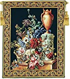 Corona Decor Fleurs Jardin Decorative European Tapestry Wall Hanging