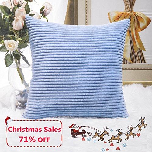 light blue pillow shams - 8