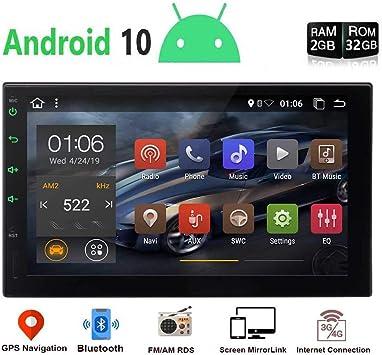 """EINCAR Unidad DIN Cabeza Android Doble Android 9.0 estéreo Bluetooth Coche con 7"""" Pantalla táctil 2"""