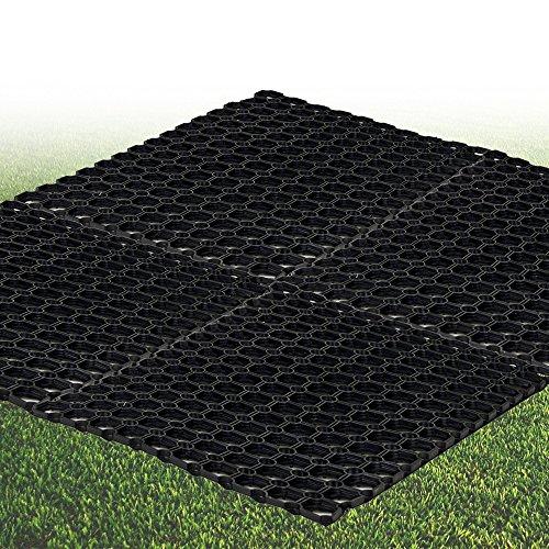 EG Homewares Rubber Grass Mat 1.2 M X 80Cm Floor Matting Safety Children'S Playground Garden