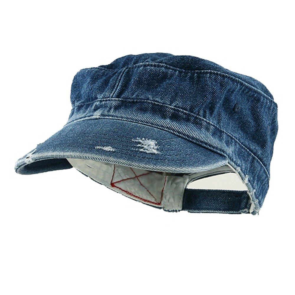 Distressed Washed Cadet Army Cap MG