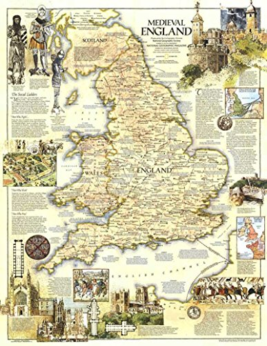 Reproduction of a poster presenting - England - Medieval (1979) - A3 Poster Prints Online Buy