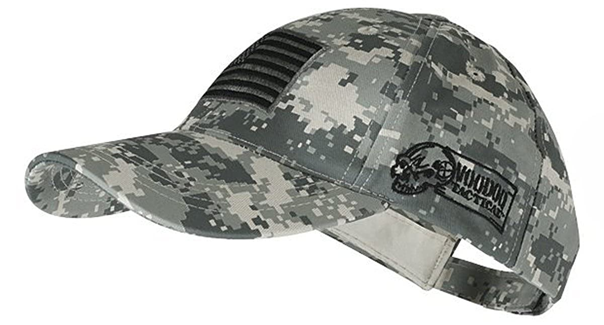Voodoo Tactical 20-9353 Contractor Baseball Cap w/Sewn on Flag Army Digital 20-9353075000