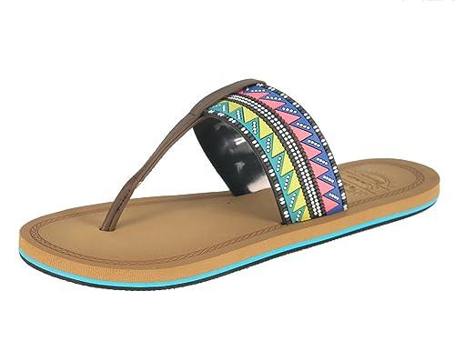 Beppi Damas Flip Flop Zapatillas Sandalias de Verano,2154041,Marrón,40