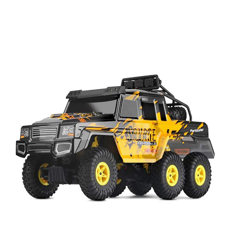 venta al por mayor barato @MZL Rock Rock Rock Crawler - Mando a Distancia para Coche a Escala 1 18 2.4 G con 6 Ruedas y Faros LED para vehículos Todoterreno, Modelo de Juguete para niños, Mando a Distancia de Alta Velocidad  diseños exclusivos