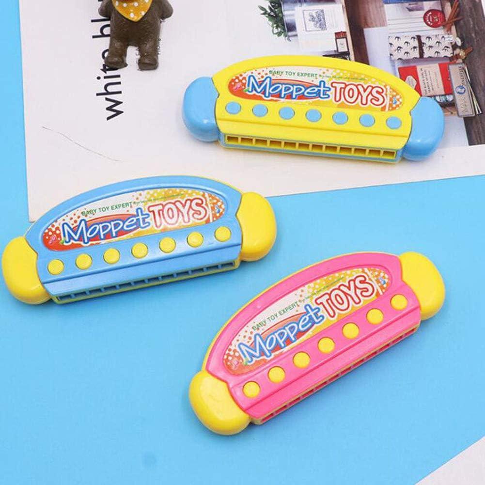 Kalaokei Kids Mini 12 Holes Cartoon Harmonica Musical Instrument Early Learning Educational Toy