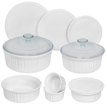 Corningware 12 Piece Round Bakeware Set : Target