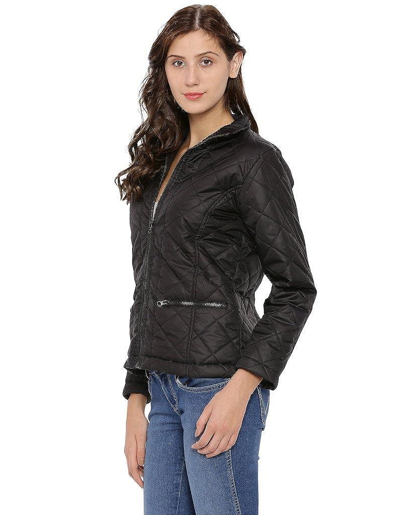 Campus Sutra Women's Cotton Plain Jacket