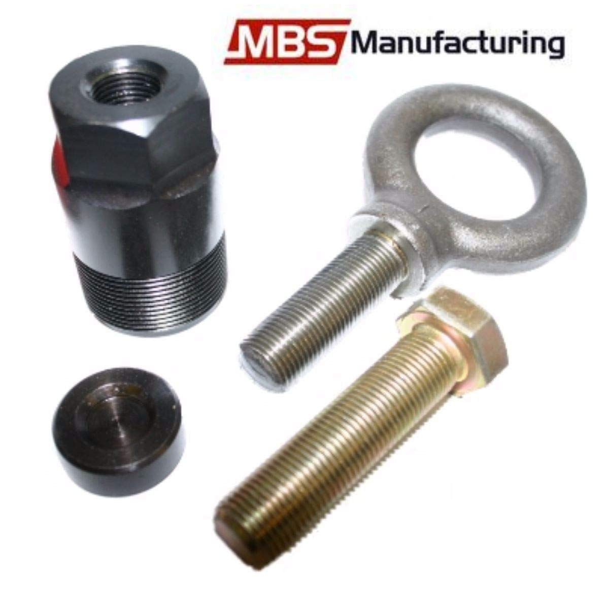 MBS Manufacturing Inc 1 1/2'-16 Flywheel Puller & Lift Eye Ring for Mercury Mariner, Force, Yamaha