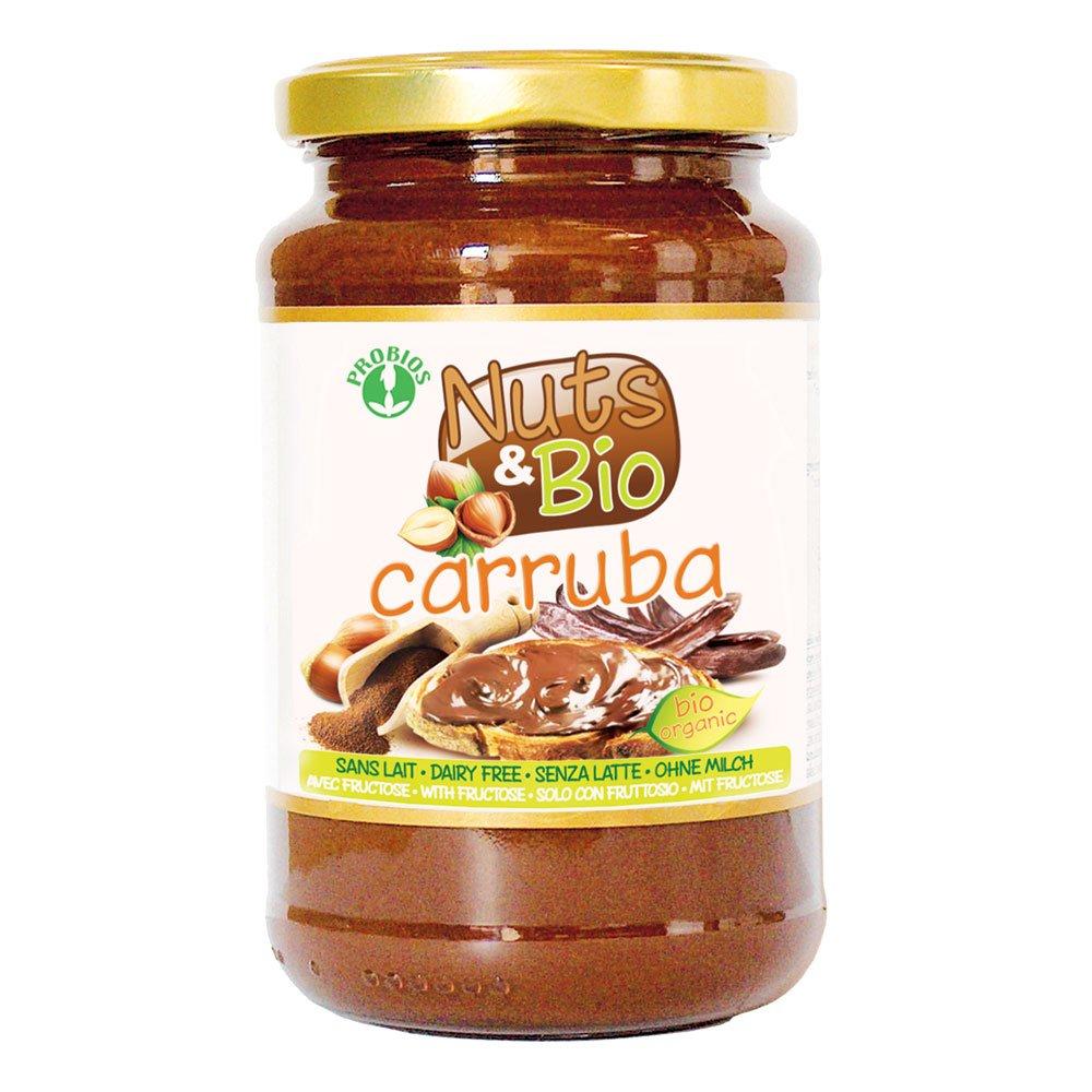 Nuts & Bio Carruba Orgánica para untar 400 g Crema: Amazon.es: Salud y cuidado personal