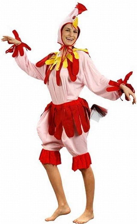 Fyasa 700273-t04 gallina disfraz, tamaño grande: Amazon.es ...