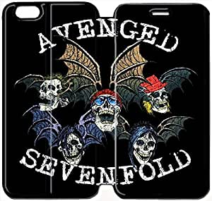 iphone 6 6S plus 5.5 inch Flip Leather Phone Case Avenged Sevenfold TY1OR3225185