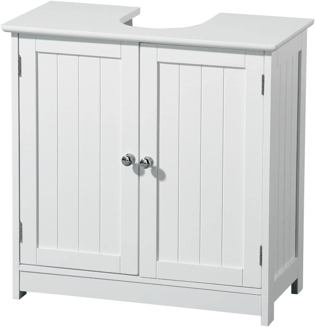 Portland Under Sink Bathroom Cabinet White
