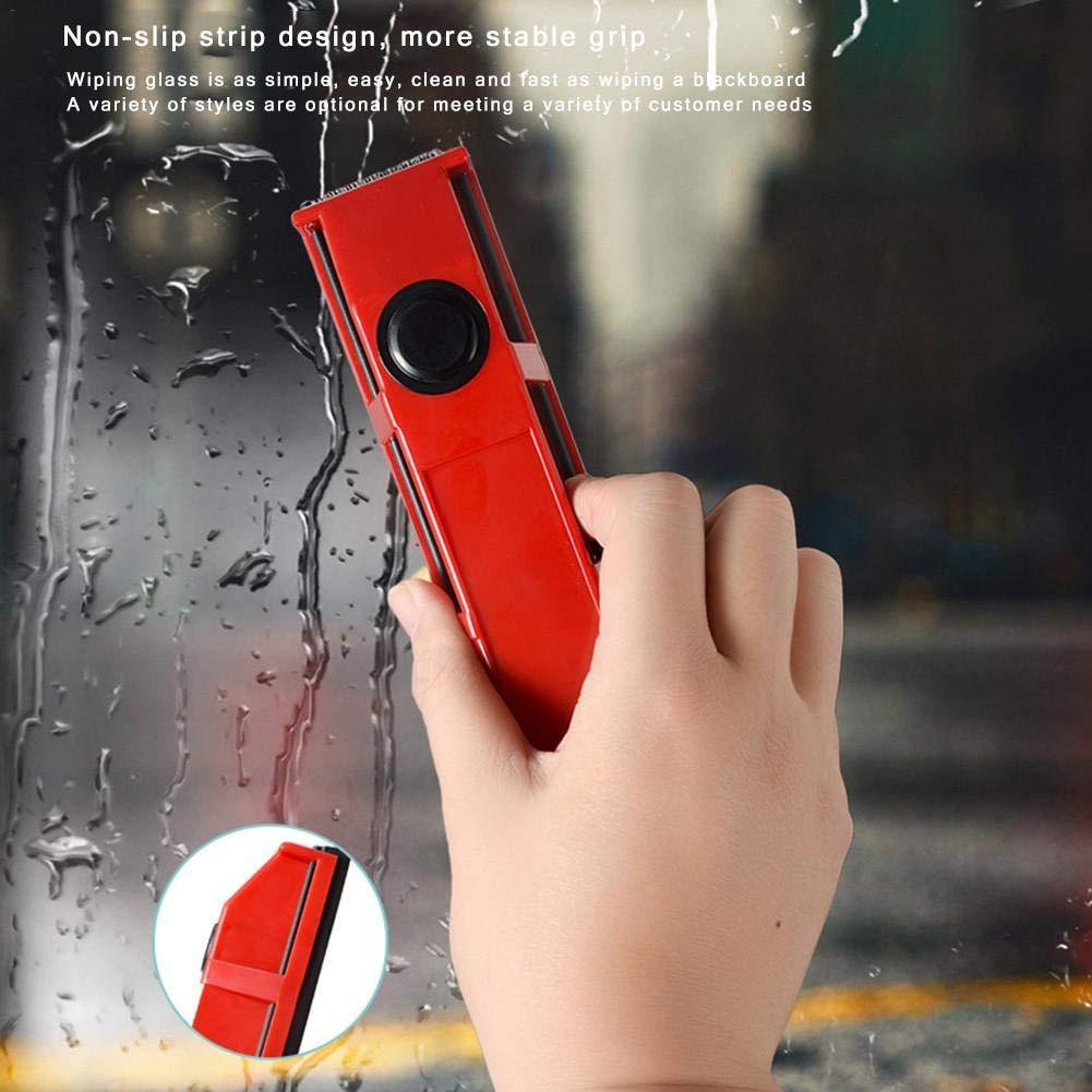 Yunhigh Outil de Nettoyage de vitres magn/étique pour fen/êtres /à Double vitrage Vitr/é Surface du Verre Compatible avec Une /épaisseur de 8-20mm