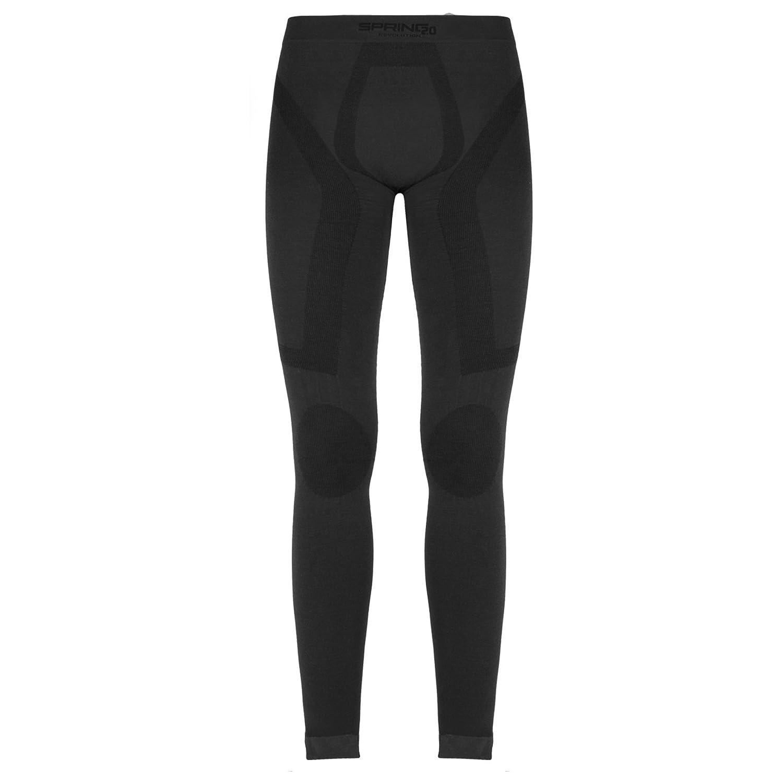Unbekannt Spring Revolution 2.0, Unisex Pantaloni Lunghi (n. 465/W) con Posture; kommpression e massaggio a compressione, mutande con lana merino Primavera