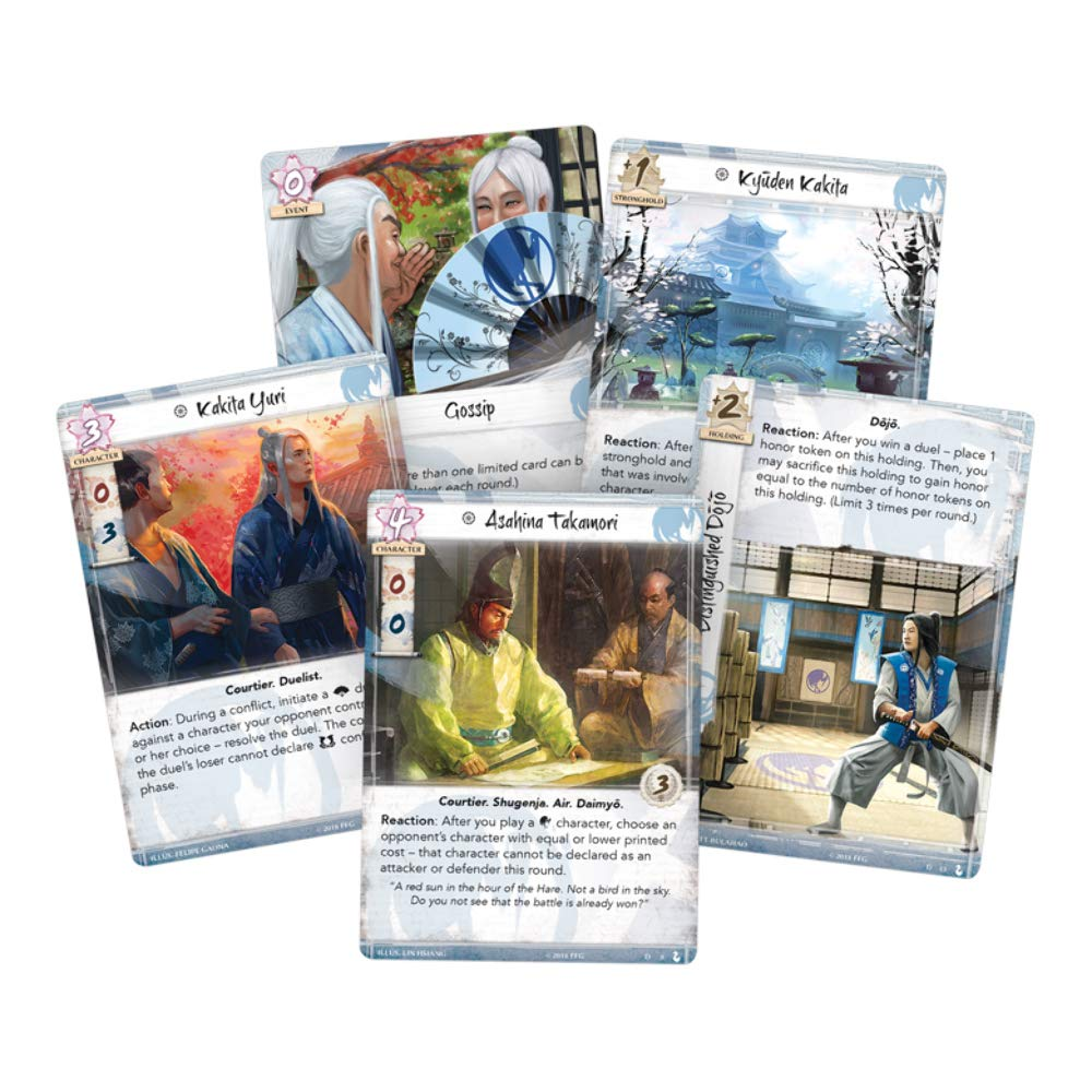 Legend of The Five Rings LCG Crane Clan Pack Masters of The Court