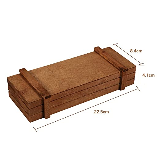 Macetero de madera, para jardín, ventana, con ventosa, para plantas, interior/exterior, rectangular, maceta con ventosa flor, contenedor de musgo, ...
