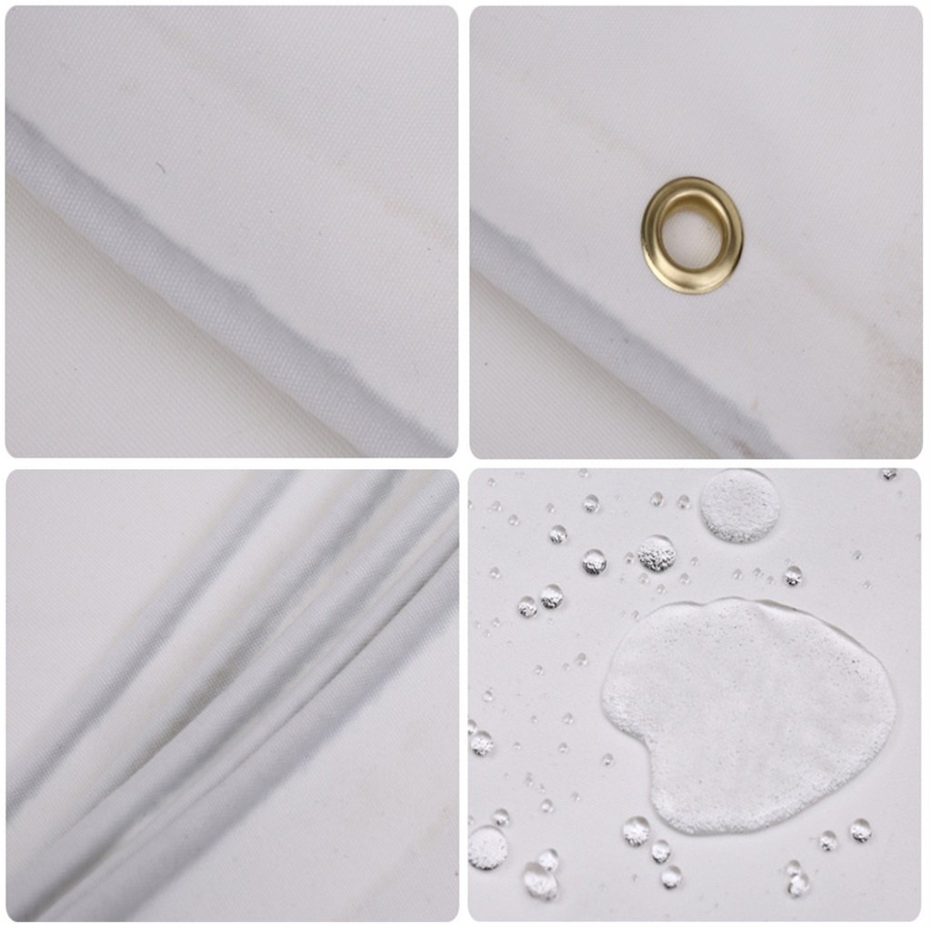 Lrx0005 Tela impermeabilizzante a a a prova d'acqua per teloni impermeabili per teloni impermeabili (Coloreee   Bianca, dimensioni   3  3m) | Facile da usare  | Qualità Affidabile  11553e