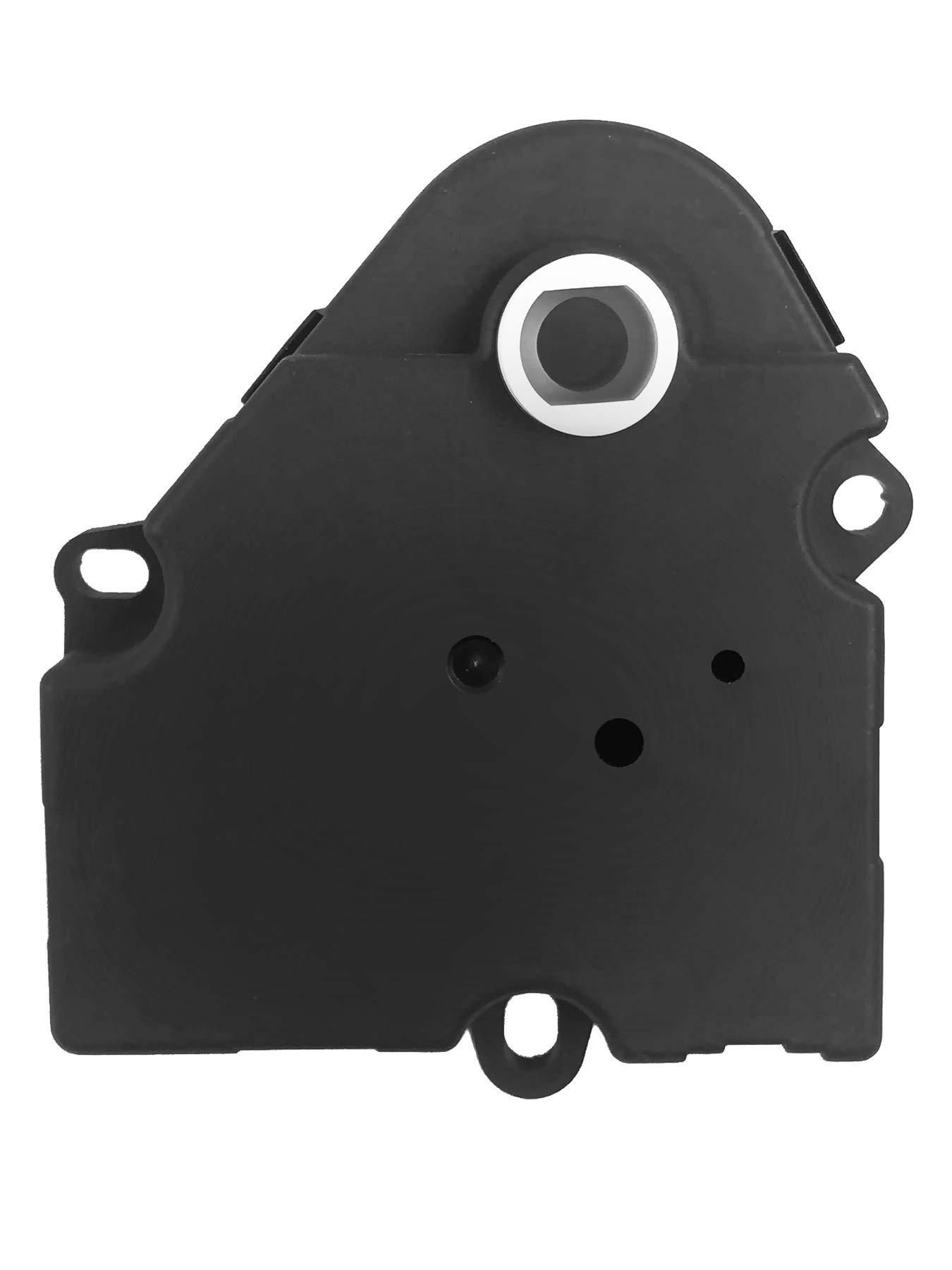 15-72972 Trailblazer Cadillac Escalade 16164972 LCWRGS Chevy Suburban 604-111 AC Rear Blend Door Actuator for Chevy Tahoe GMC Yukon Replace# 52402611 89018375 Buick LeSabre