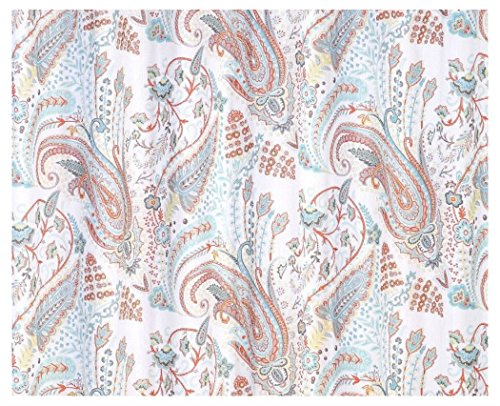Fabric Shower Curtain Paisley Floral product image