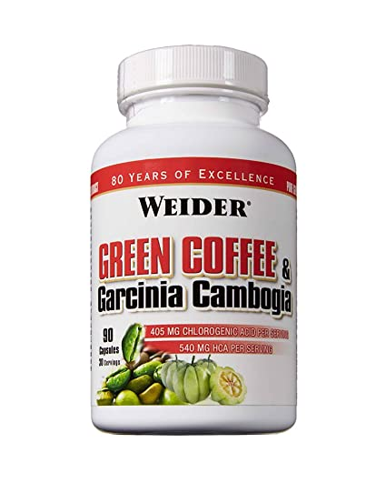 WEIDER Green Coffee & Garcinia Cambogia 90 Caps