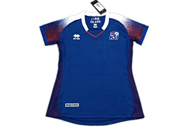 63e64411e Image Unavailable. Image not available for. Colour  TI Soccer jersey  Iceland Home Blue women s 2018 World Cup