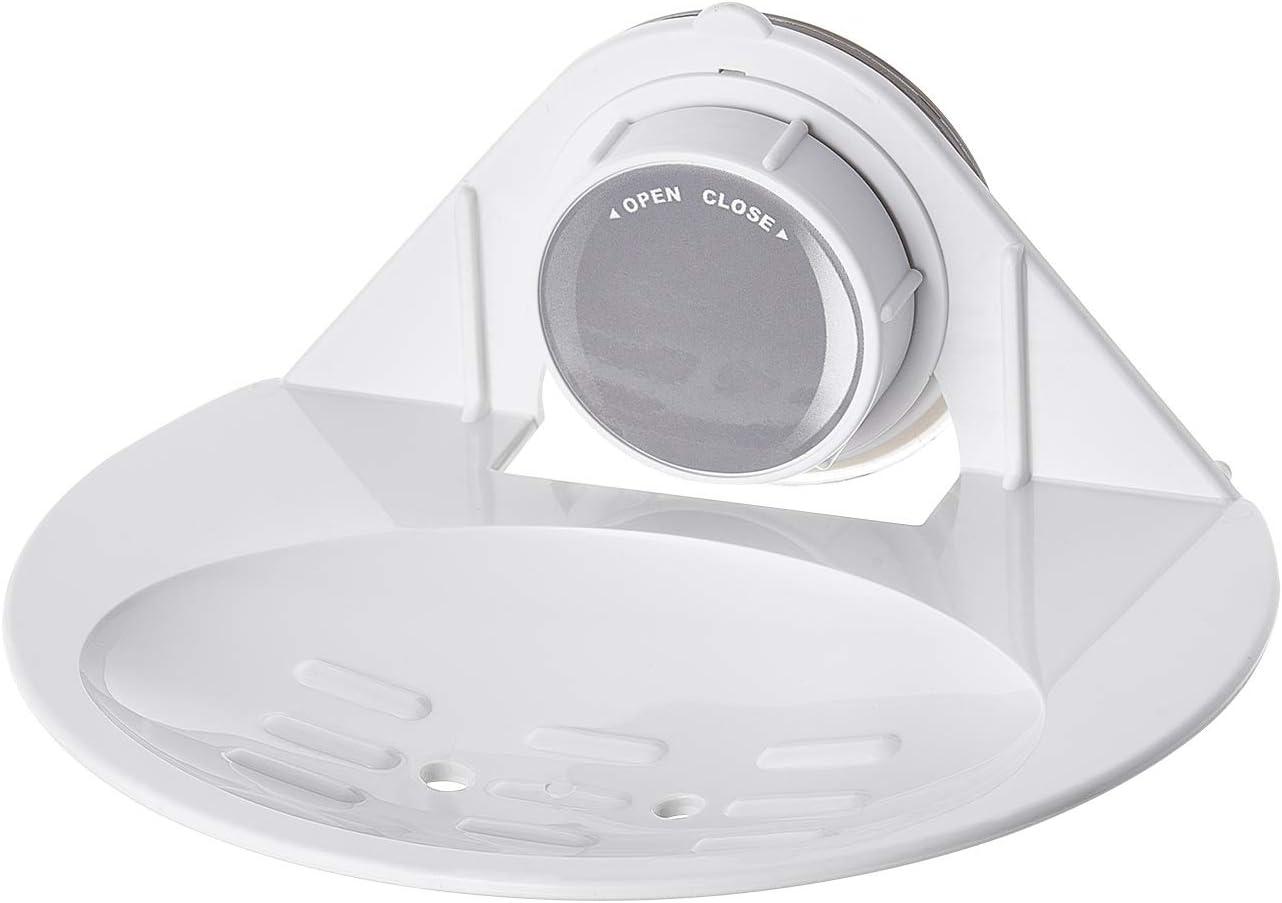 55 x 75 x 23 mm. Color Blanco Aprox Ridder 12002201 policloruro de Vinilo Gancho pl/ástico ABS PVC acrilonitrilo butadieno estireno