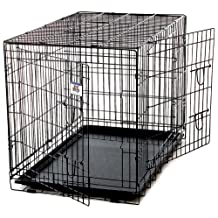 Little Giant Farm and Ag Miller Manufacturing 154758 X-Large Black Pet Crate