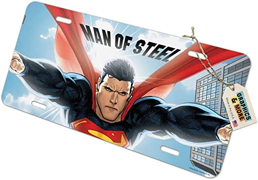 Graphics and More Superman Fortress of Solitude Novelty Metal Vanity Tag License Plate