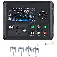 Controlador del grupo electrógeno, DC70D Monitor de parámetros de diesel/gasolina/grupo electrógeno a prueba de agua con pantalla LCD de 4.3 pulgadas