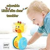 Early Education 3 Months + Baby Hip Hop Swing renne Bambini tumbler giocattoli animali per bambini e ragazzi Ragazzi e ragazze