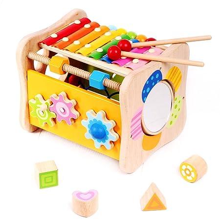 Cajas de música Mesa de estudio de educación temprana para niños ...