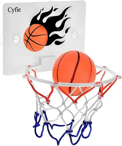 Amazon.com: Juguete de minibaloncesto Cyfie, Juego Slam Dunk ...