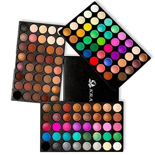 [Eyeshadow Palette, Ambito Professional Makeup 120 Colours Cosmetics Set 2017 New Eye Shadow Makeup Palette includes Matte and Shimmer Eye Shadows] (Professional Makeup Palettes)