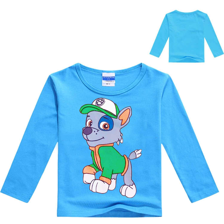 MININ Unisex-Baby Rocky Print Long Sleeve T-Shirt 3-12Y