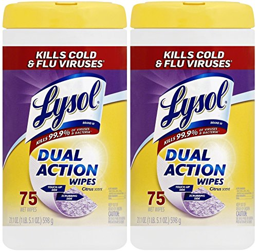 Lysol Action Disinfecting Wipes Citrus product image
