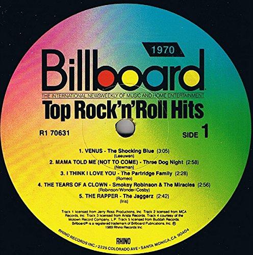 Billboard Top Rock & Roll Hits: 1970 [Vinyl]