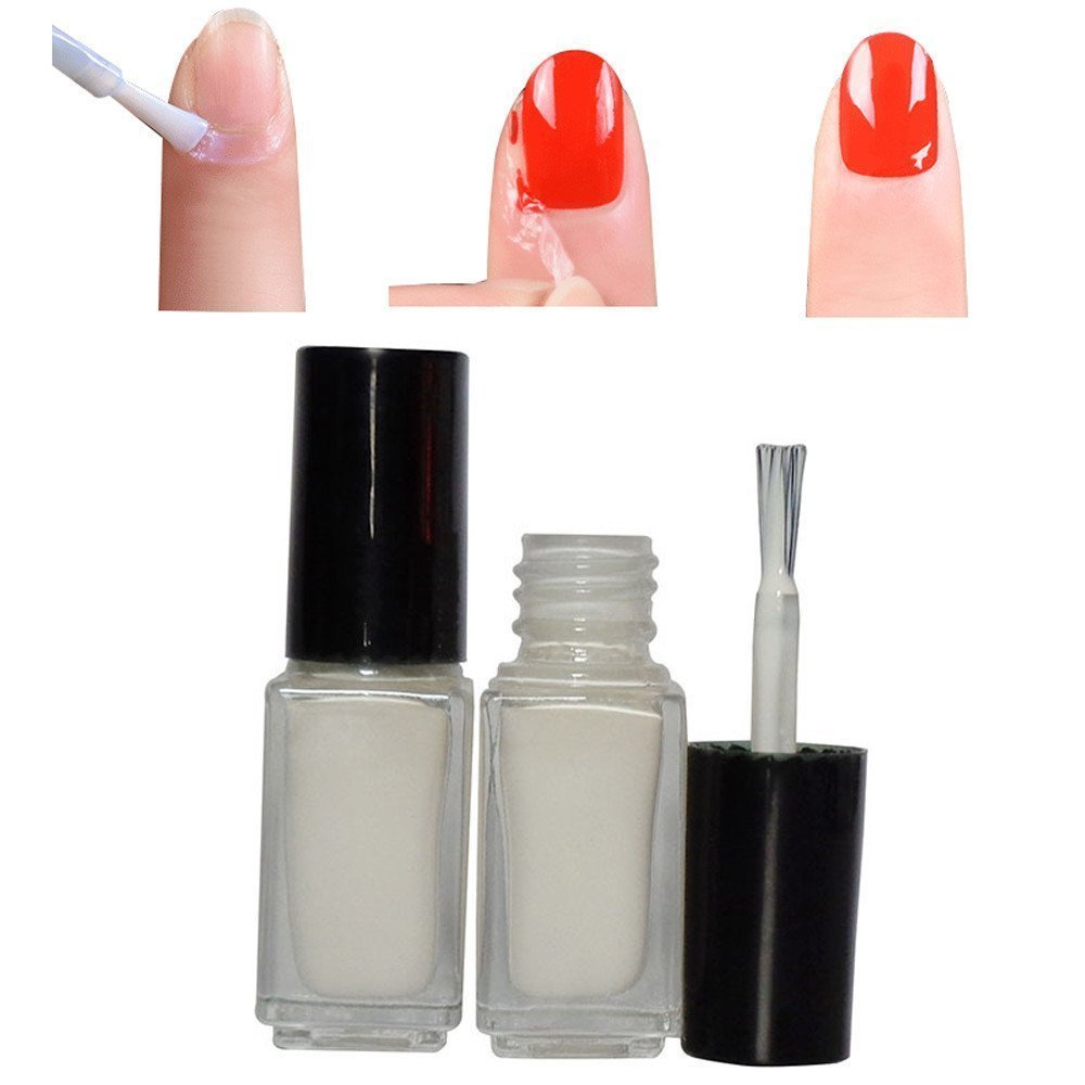 Mumustar Nail Peel Off Liquid Tape Latex Cuticle Guard Skin Barrier Protector Gel Manicure Polish Accessory