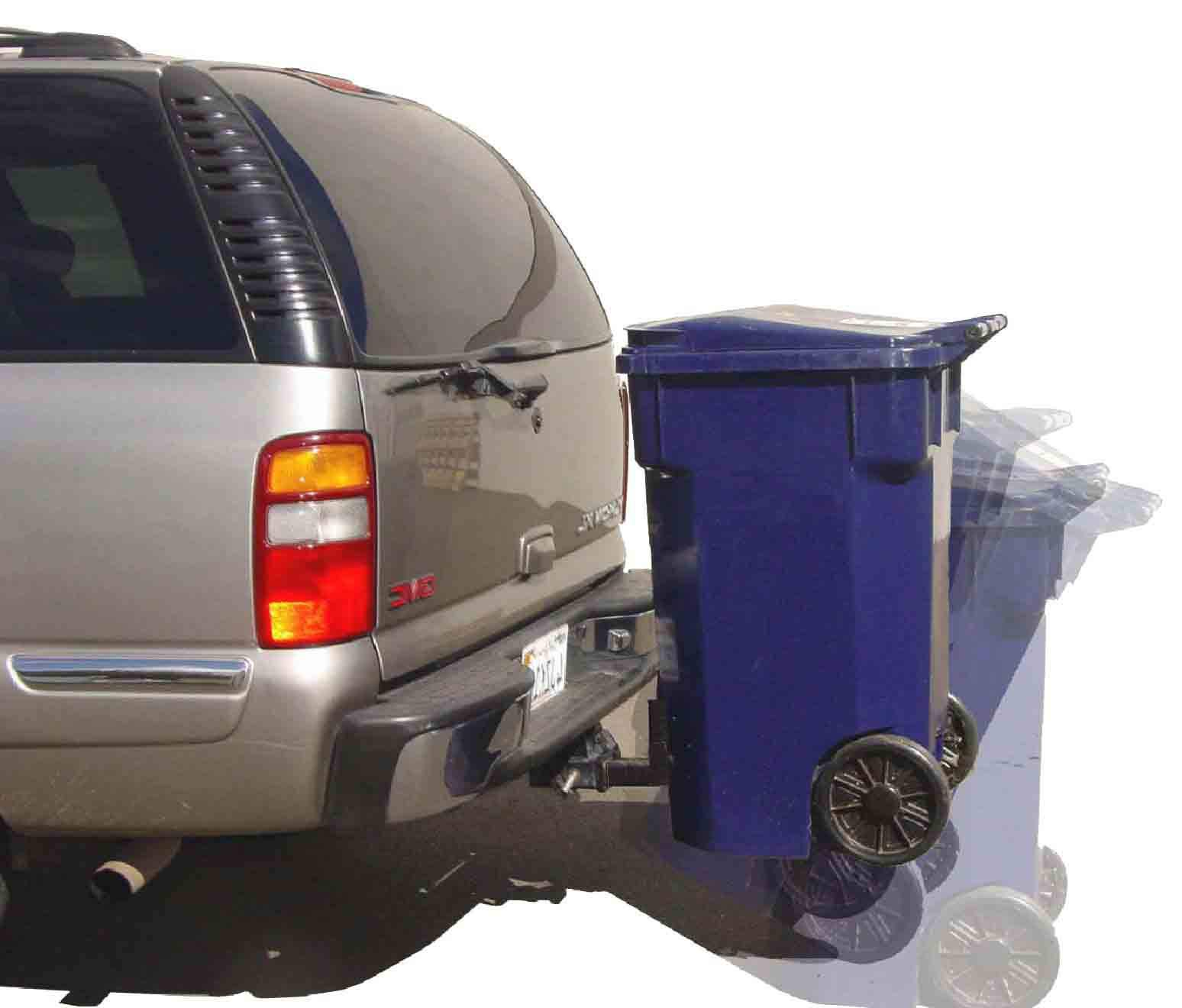 Single Trash Cart Carrier