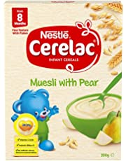 Nestlé CERELAC Muesli with Pear Infant Cereal Bag in Box 200g