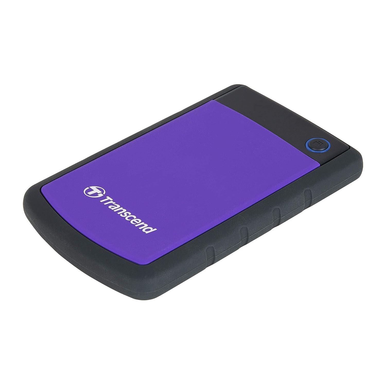 ranscend StoreJet 25H3P 1TB External Hard Disk