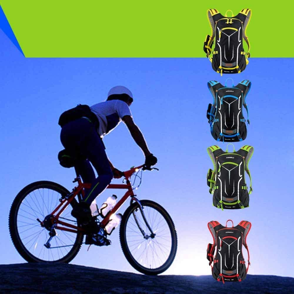 18L Bicycle Backpack Waterproof Breathable with Rain Cover for Outdoor Travel Hiking Climbing Lixada Cycling Backpack