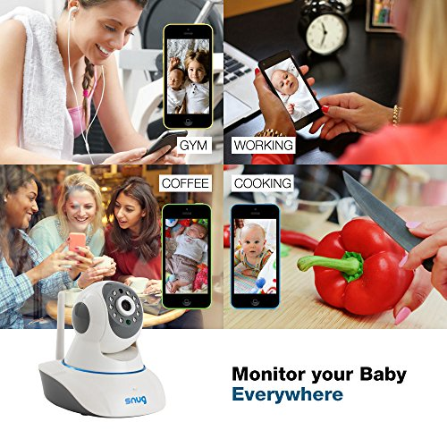 snug baby monitor v2 wifi video camera with audio for iphone samsung baby product in the uae. Black Bedroom Furniture Sets. Home Design Ideas