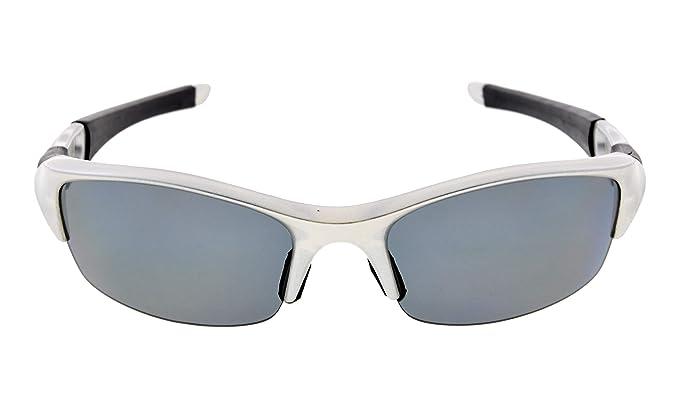 2d3b31a1f72 Eyekepper TR90 Unbreakable Sports Polycarbonate Half-Rimless Polarized  Sunglasses Baseball Running Fishing Driving Golf Softball