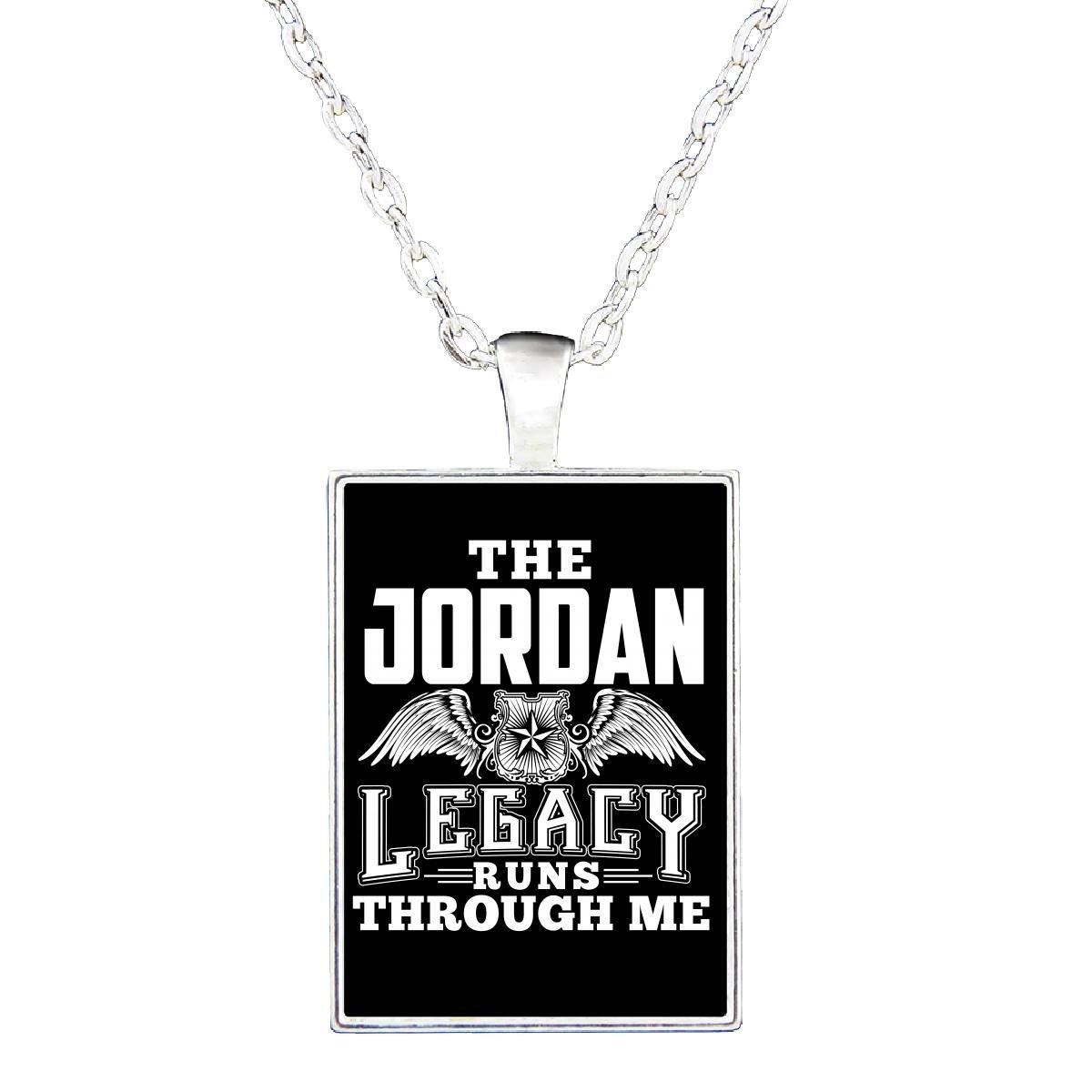 The Jordan Legacy Runs Through Me - Necklace