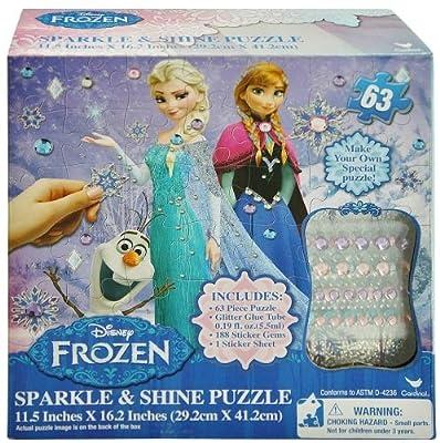 Disney Frozen Sparkle and Shine Puzzle 63 pcs