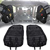 Opall Roll Bar Storage Bag Cage with Multi-Pockets & Organizers & Cargo Bag Tool Kits for Jeep Wrangler Storage Bag JL