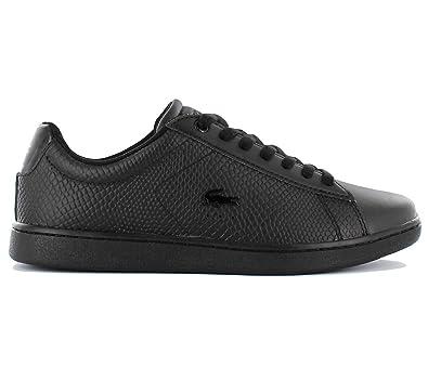 9eeea5c10a Lacoste Carnaby Evo Femme Baskets Mode Noir: Amazon.fr: Chaussures ...