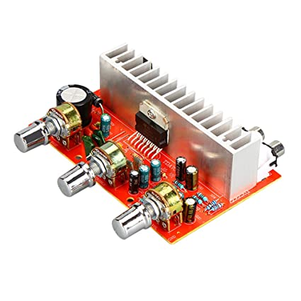 AOSHIKE 12V TDA7377 Audio Amplifier Board 40W+40W 2.0 Channel Stereo Amplificador For 3-