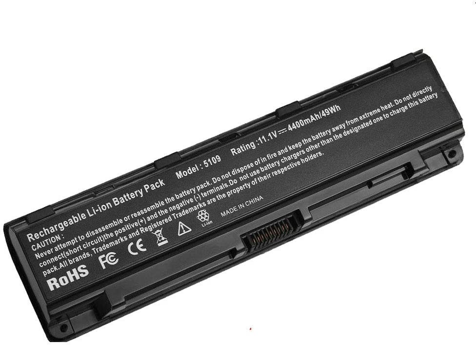 Powerforlaptop Laptop/Notebook Replacement Battery for Toshiba PA5108U-1BRS PA5109U-1BRS PA5110U-1BRS PABAS271 PABAS272 PABAS273, for Toshiba Satellite C40 C45 C50 C55 C70 C75 Series